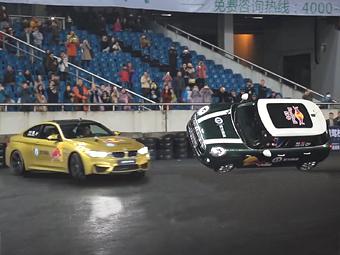 Купе BMW M4 установило рекорд Гиннесса по «пончикам»