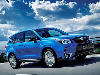 У Subaru появился «спортивный» Forester
