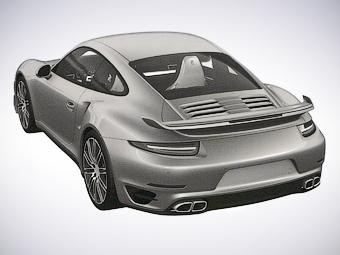 Появились первые изображения обновленного Porsche 911