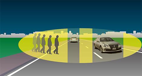 Компания Toyota разработала новую систему управления дальним светом