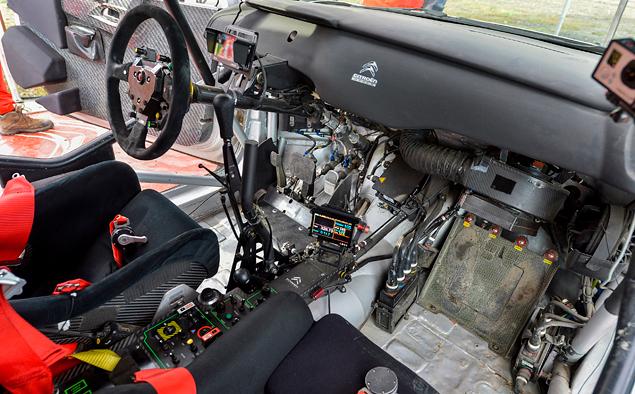 Один день за рулем раллийных машин Citroen. Фото 15