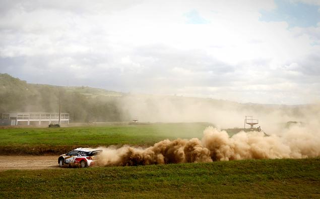 Один день за рулем раллийных машин Citroen. Фото 18
