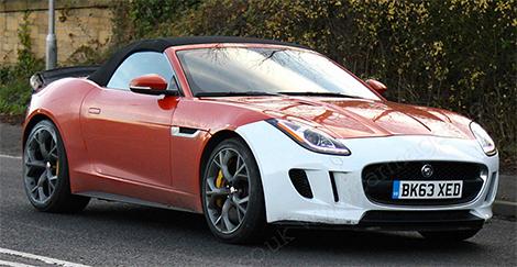 Самый мощный Jaguar F-Type может получить 600-сильный мотор
