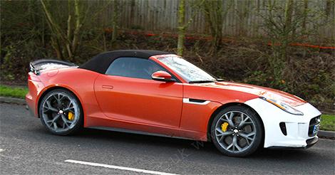 Самый мощный Jaguar F-Type может получить 600-сильный мотор. Фото 1