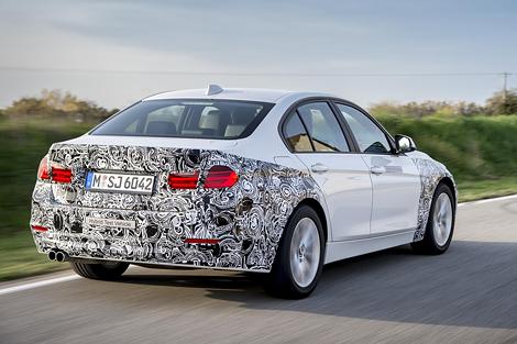 BMW представила прототип 3-Series с возможностью зарядки от розетки. Фото 1