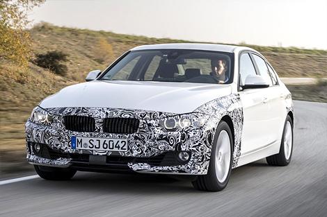BMW представила прототип 3-Series с возможностью зарядки от розетки. Фото 4