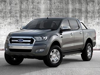«Форд» раскрыл внешность обновленного пикапа Ranger