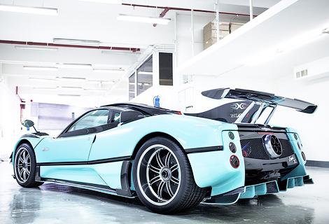 Автопроизводитель построил для клиента из Гонконга уникальный суперкар. Фото 4
