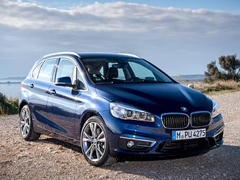 В BMW рассказали про полный привод компактвэна 2-Series