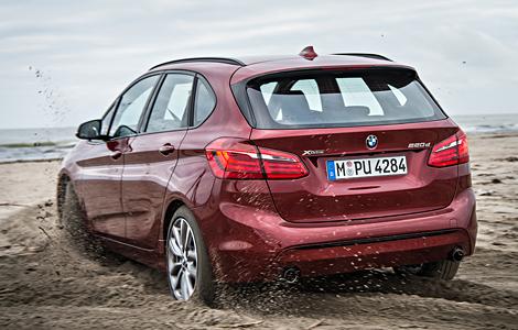 Первой переднеприводной модели BMW добавили систему xDrive. Фото 3