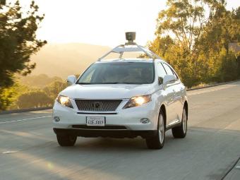 """Беспилотники Google научат """"напористому вождению"""""""