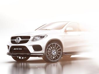 Mercedes-Benz частично раскрыл конкурента BMW X6