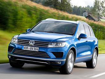 Volkswagen Touareg подорожал в России после рестайлинга