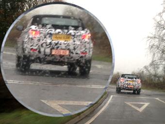 Land Rover начал тесты кроссовера с мягкой крышей
