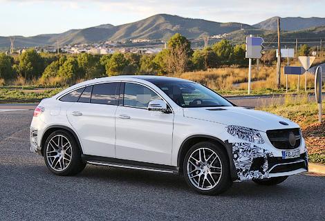 Появились снимки конкурента BMW X6 от Mercedes-Benz