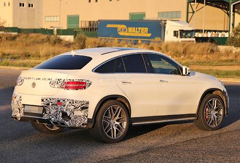 Появились снимки конкурента BMW X6 от Mercedes-Benz. Фото 1