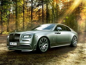 Тюнеры довели мощность Rolls-Royce Wraith до 717 сил