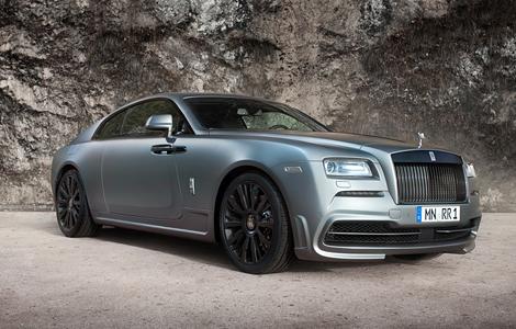 Компания Spofec представила свою версию купе Wraith