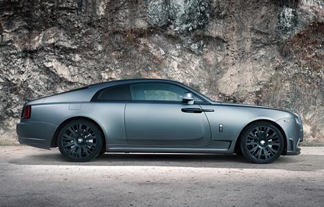 Компания Spofec представила свою версию купе Wraith. Фото 1