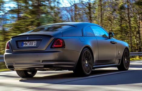 Компания Spofec представила свою версию купе Wraith. Фото 2