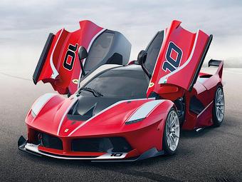 Ferrari рассекретила 1050-сильный трековый супергибрид