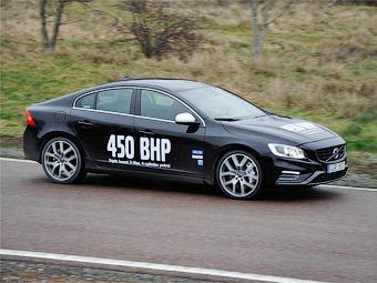 Volvo испытала на седане S60 450-сильную «четверку»