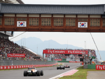 Календарь Формулы-1 пополнили этапы в Корее и Мексике