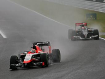 Названа причина аварии гонщика Marussia Жюля Бьянки