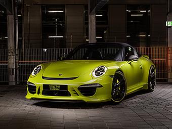 Ателье Techart преобразило таргу Porsche 911