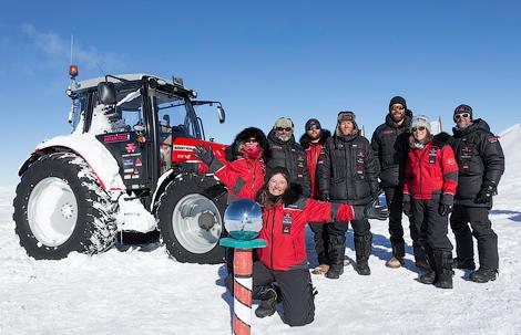 Путешественница преодолела 2500 километров по Антарктике