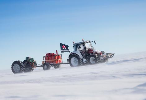 Путешественница преодолела 2500 километров по Антарктике. Фото 3