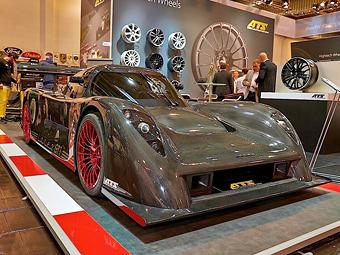 Немцы построили 1260-сильный сверхлегкий суперкар