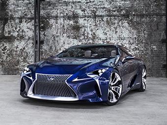 «Лексус» выбрал название для нового спорткара