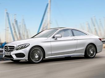 Купе Mercedes-Benz C-Class появится через год