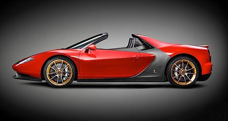 Опубликованы изображения эксклюзивного суперкара Pininfarina Sergio