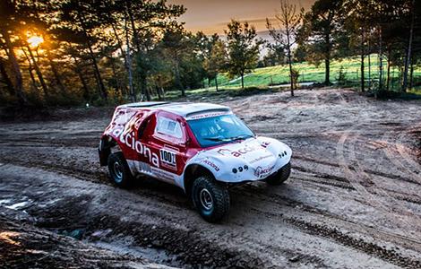 Машина компании Acciona примет участие в ралли-рейде 2015 года