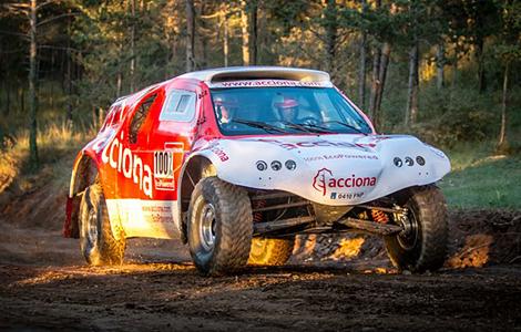 Машина компании Acciona примет участие в ралли-рейде 2015 года. Фото 2
