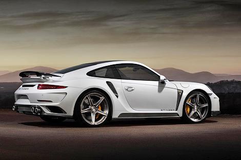 Ателье TopCar представило проект тюнинга Porsche 911 Turbo