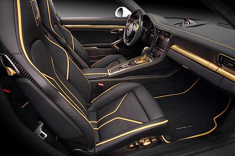 Ателье TopCar представило проект тюнинга Porsche 911 Turbo. Фото 2