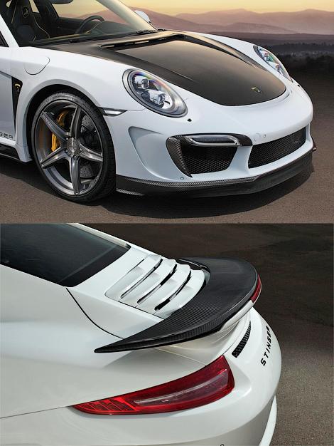Ателье TopCar представило проект тюнинга Porsche 911 Turbo. Фото 3