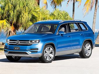 Volkswagen привезет в Детройт предвестника семиместного кроссовера