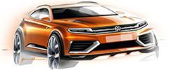 Новый серийный вседорожник Volkswagen появится в 2016 году