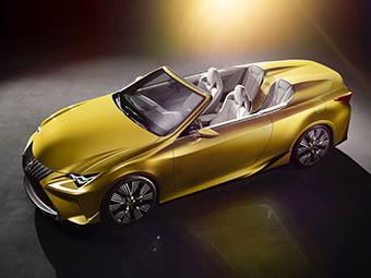 СМИ узнали о двух будущих кабриолетах Lexus