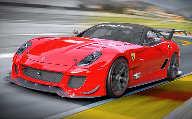 Что круче: Ferrari FXX K или сезон в настоящих гонках?. Фото 22