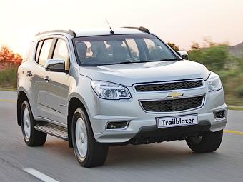 Chevrolet отзовет внедорожники Trailblazer в России