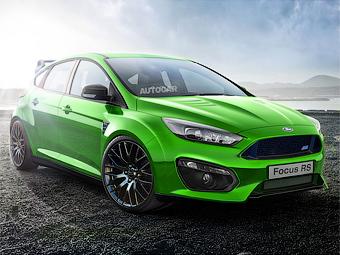 Ford подтвердил появление нового Focus RS