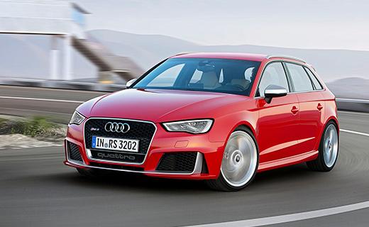 Новый Audi RS3 стал самым мощным хот-хэтчем в мире