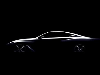 Компания Infiniti показала силуэт конкурента BMW 4-Series