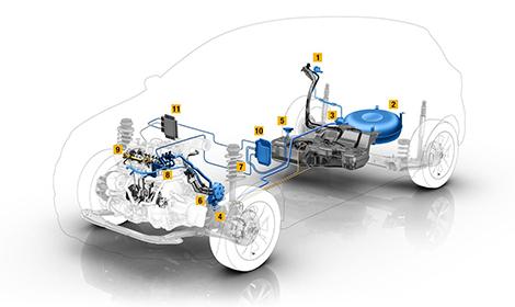 Французы создали компактный электромотор и двухтопливный турбодвигатель. Фото 1
