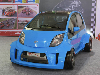 В Индии создали 230-сильную Tata Nano
